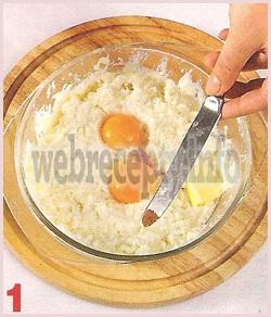 Яичница с беконом в картофельных гнездах