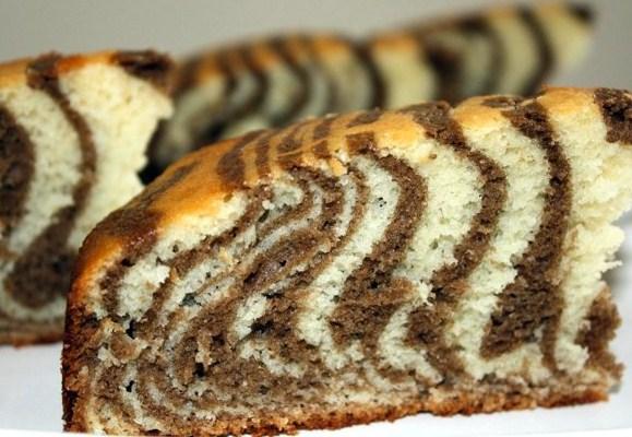 Торт зебра на сметане рецепт в духовке