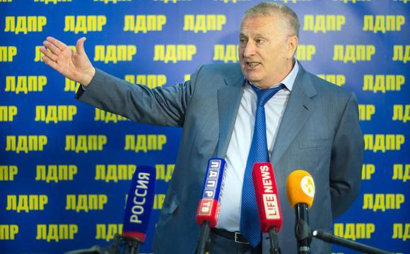 Жириновский представил общественности своего внебрачного сына