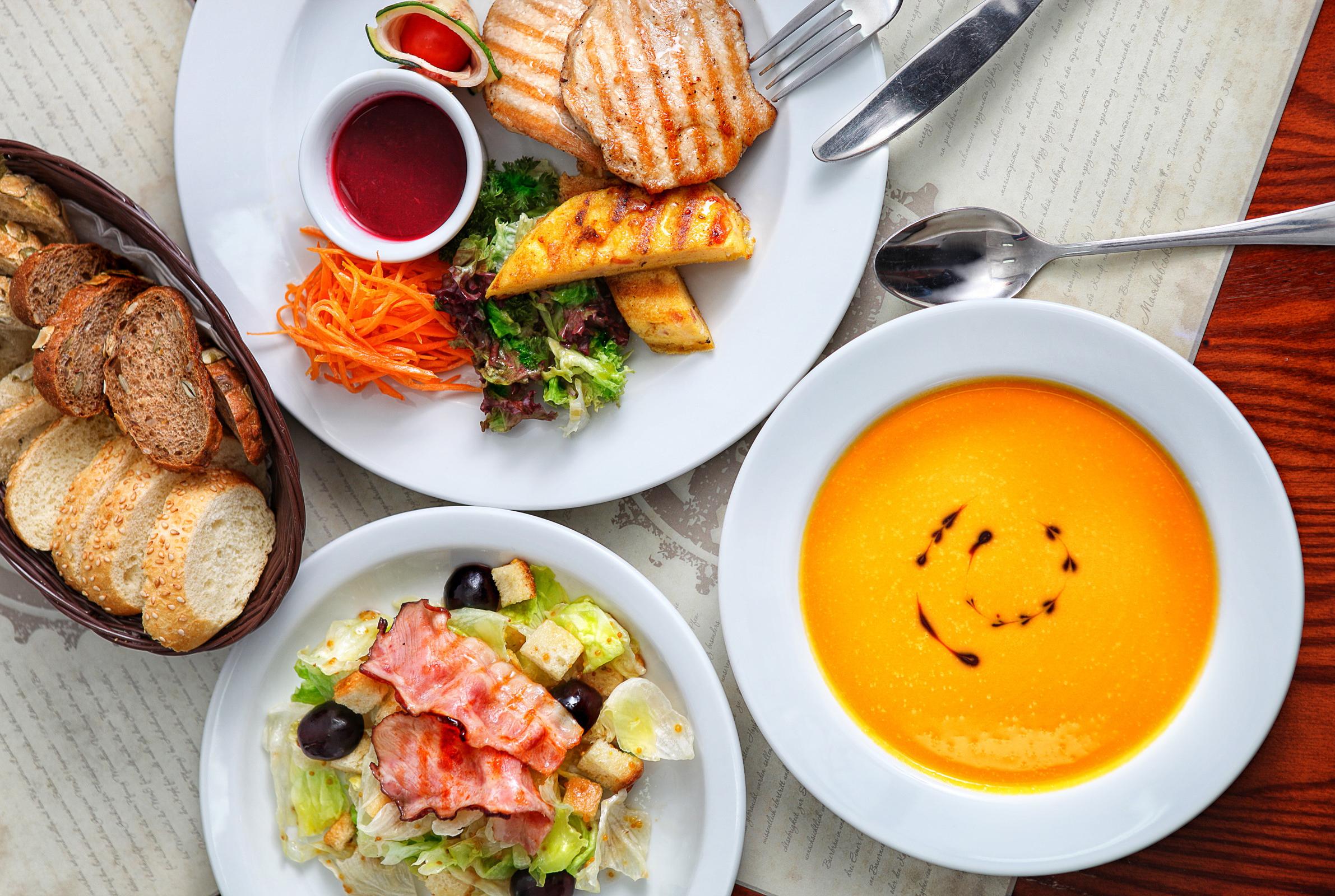 Доставка комплексных обедов в офисы по низким ценам