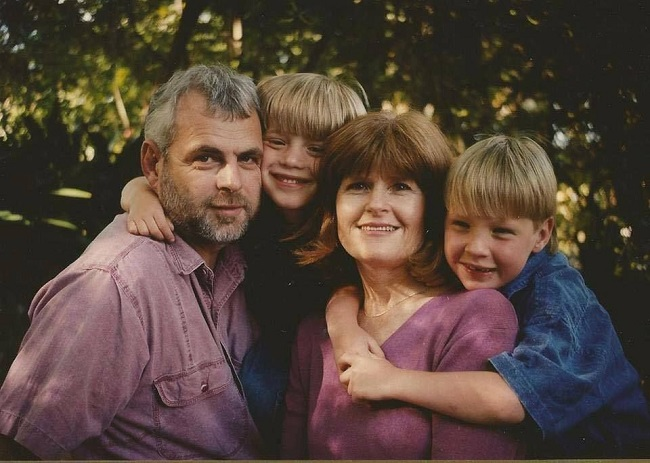 Русская семья Алекса Гилберта