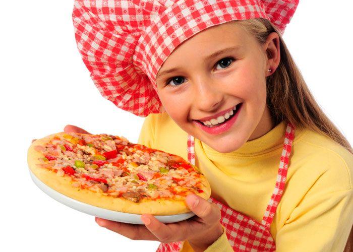 Пицца – лучшее блюдо на детский день рождение