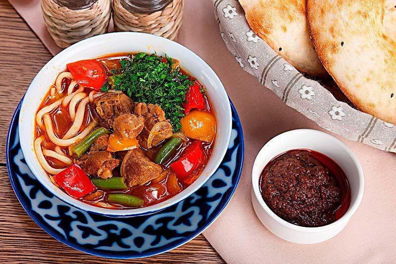 Настоящая узбекская кухня и уникальные условия доставки
