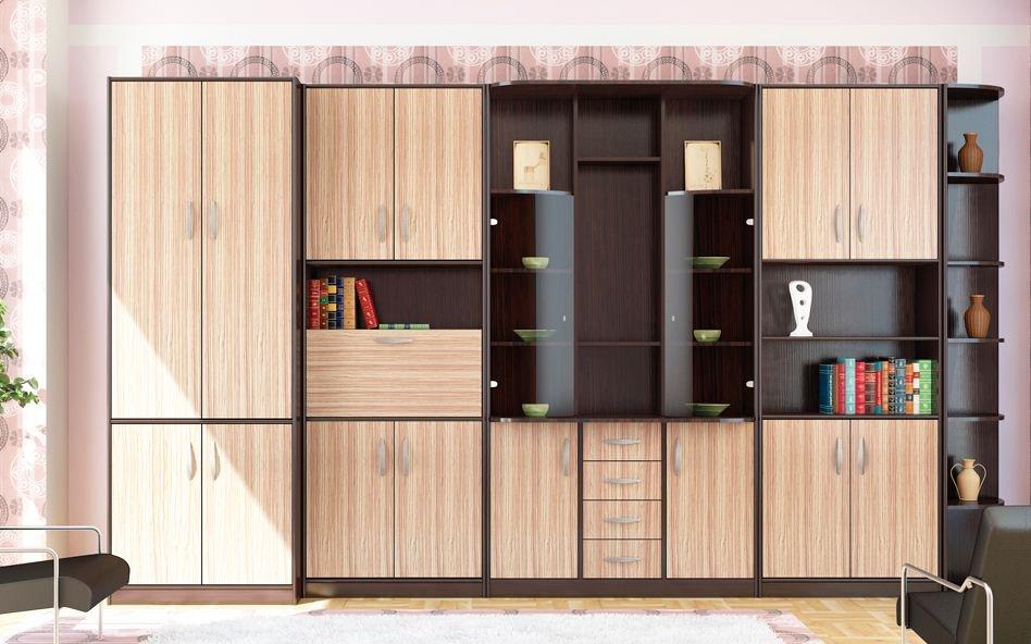 Мебельные стенки для обустройства гостиной