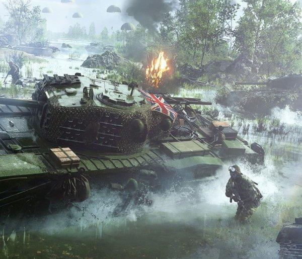 Геймеров банят за обсуждения исторической достоверности Battlefield