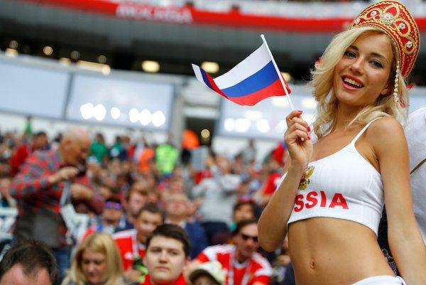 «Самая красивая болельщица» России оказалась порноактрисой