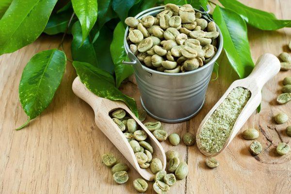 Зеленый кофе в зернах в ассортименте