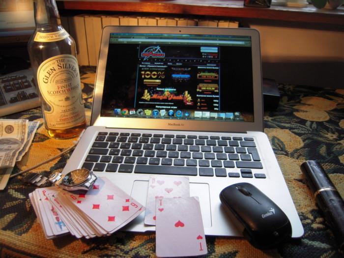 Азартные онлайн слоты
