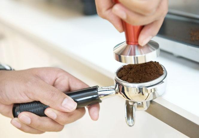 Темпер для создания вкусного кофе