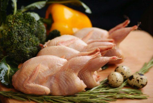 Качественное мясо перепела по доступной цене с доставкой в СПб и по пригороду