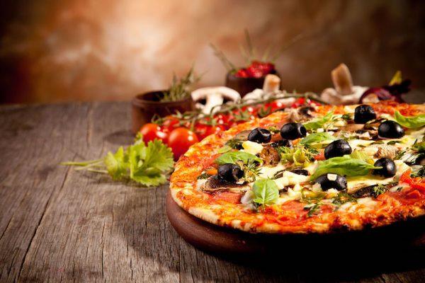 Доставка пиццы, суши, бургеров и салатов в Днепре