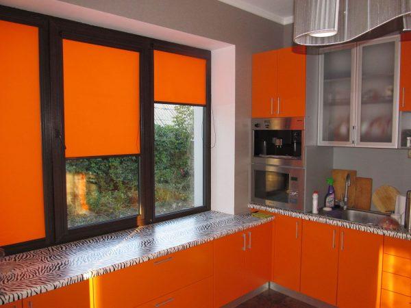 Жалюзи, ролеты и шторы для кухни