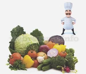 500 грамм овощей