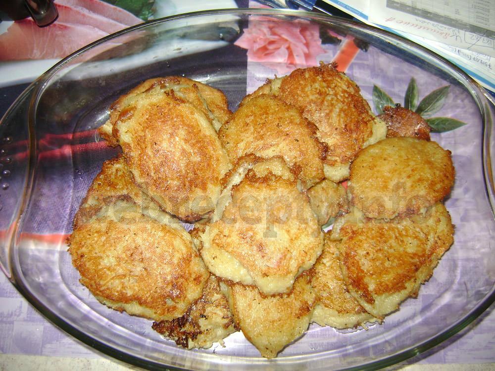 Драники с мясом рецепт с фото