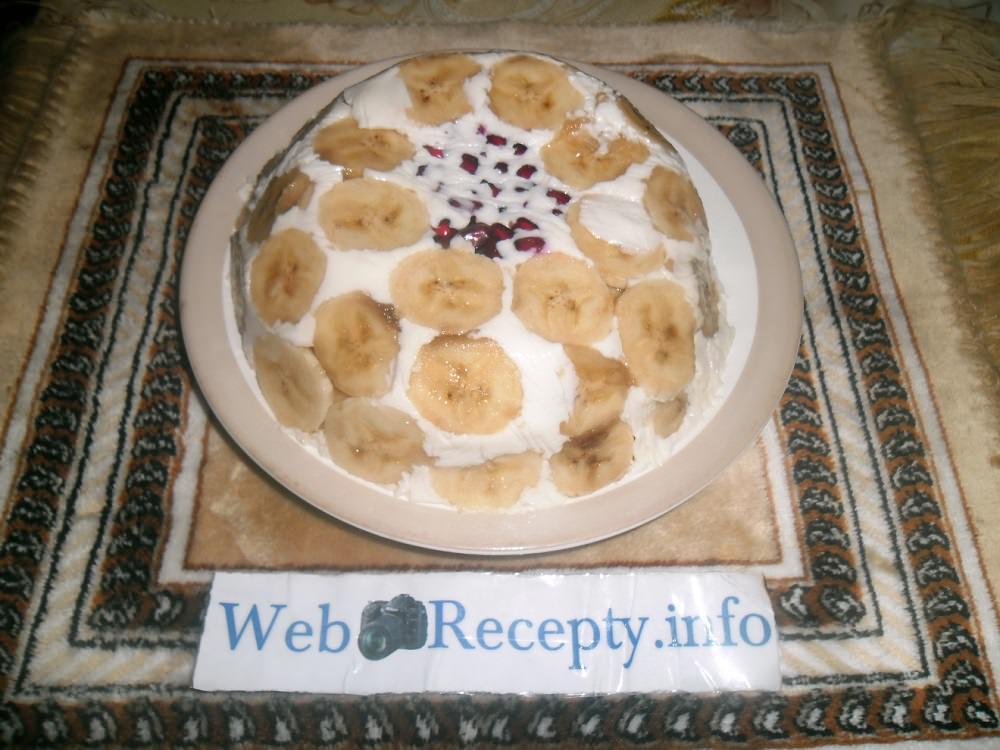 Сметанный торт — рецепт с фруктами