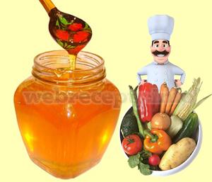 Овощи с медом