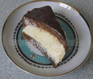 Приготовление торта Птичье молоко