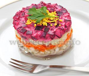 Салат селёдка под шубой рецепт приготовления