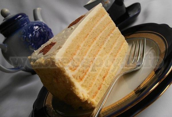 Сметанный торт простой рецепт