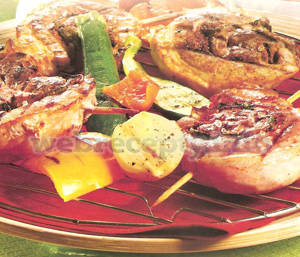 Свинина на гриле рецепт