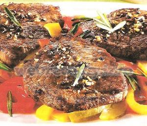 Жареная говядина с перцем