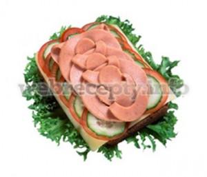 Бутерброд колбасные выкрутасы