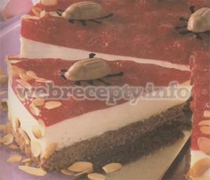 Малиново-творожный торт