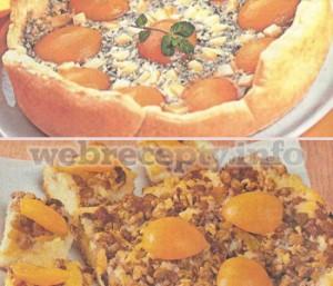 Пирог с консервированными персиками (2 рецепта)
