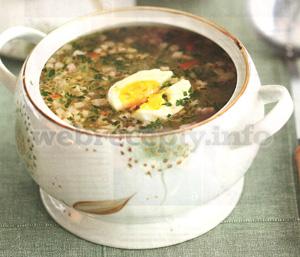 Польский суп на закваске