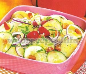Салат весенняя свежесть
