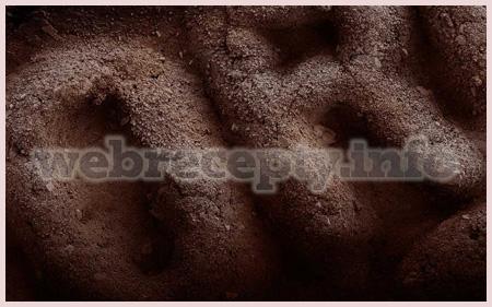 Нано пища или еда под микроскопом
