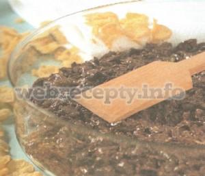 Шоколадный торт с хрустящими хлопьями