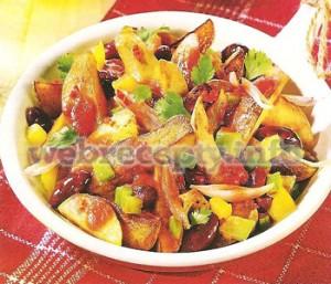 Теплый салат «Чили»
