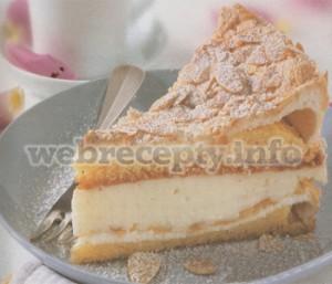 Торт с кремом из белого вина