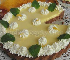 Пирог «творожный лимонник»
